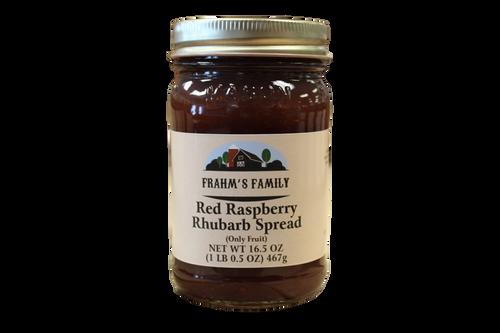 Red Raspberry Rhubarb Spread FF