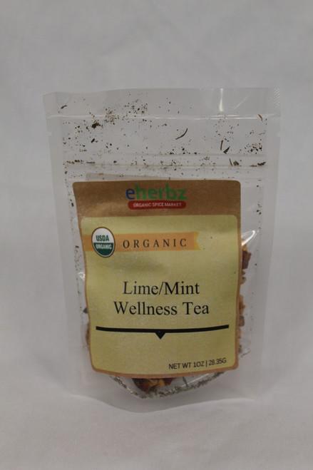 Lime Mint Wellness Tea