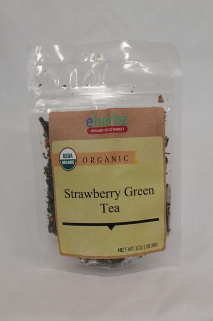 Strawberry Green Tea 1oz FR