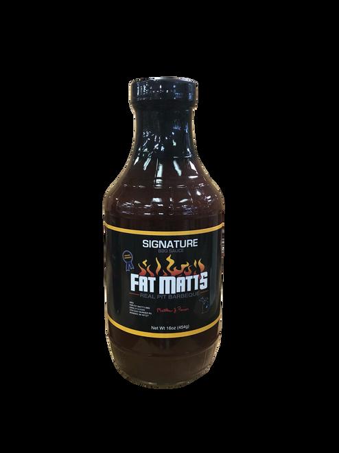 Fat Matt's BBQ Sauce  Signature