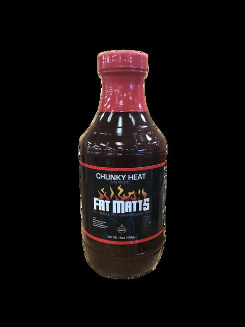 Fat Matt's BBQ Sauce Chunky Heat