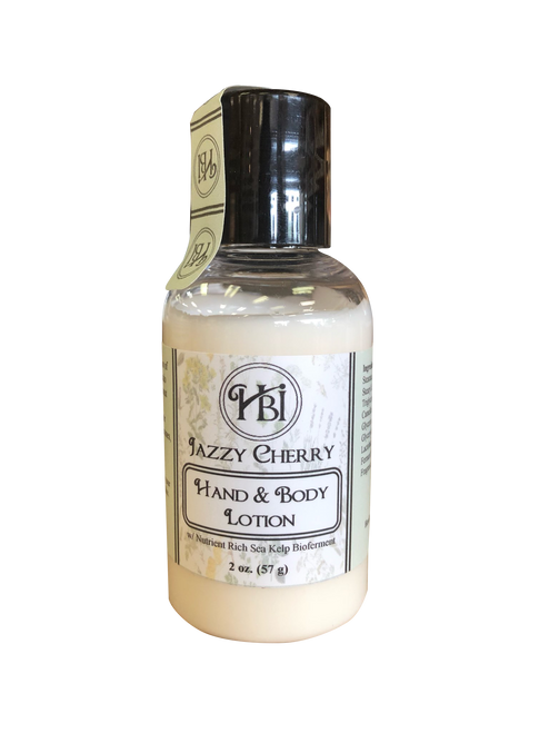 Jazzy Cherry Hand & Body Lotion 2oz