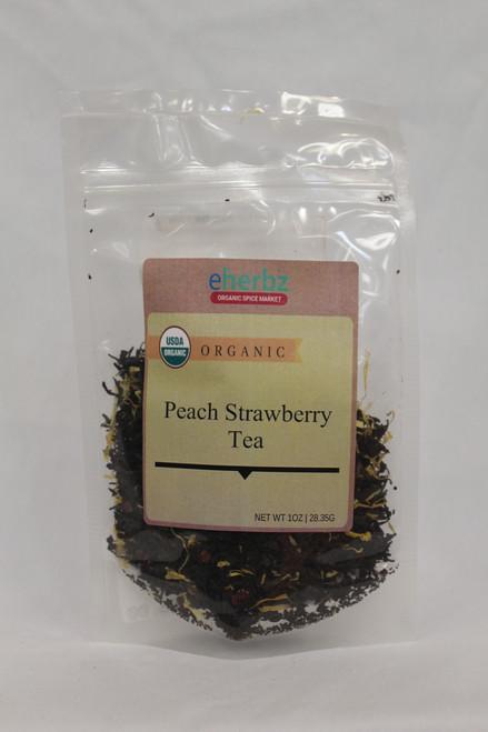Strawberry Peach Tea