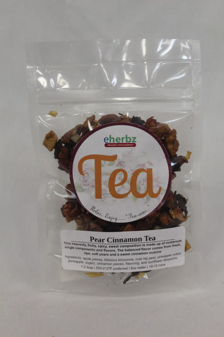 Pear Cinnamon Tea