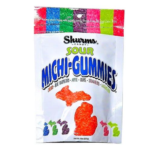 Michi-Gummies Sour 8oz bag