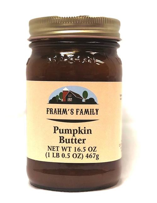Pumpkin Butter 16.5 oz FF
