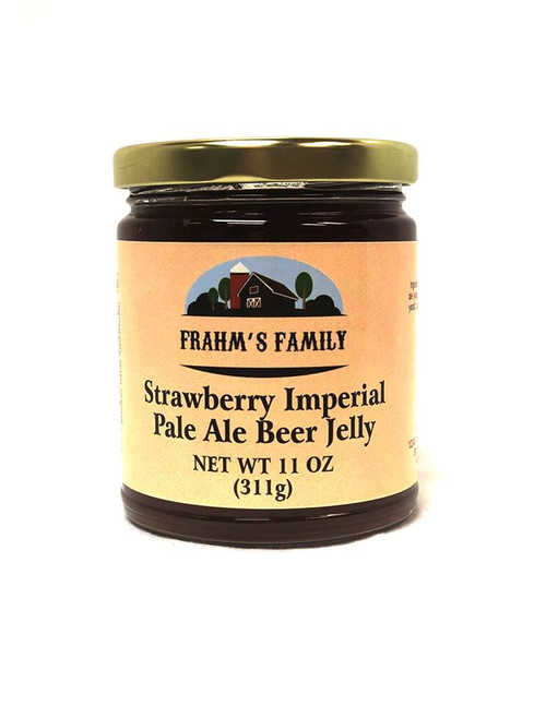 Strawberry Beer Jelly 16.5 oz FF