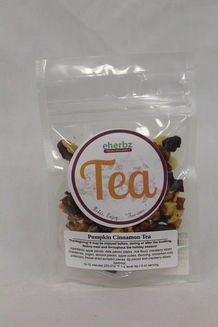 Pumpkin Cinnamon Tea 1oz DB