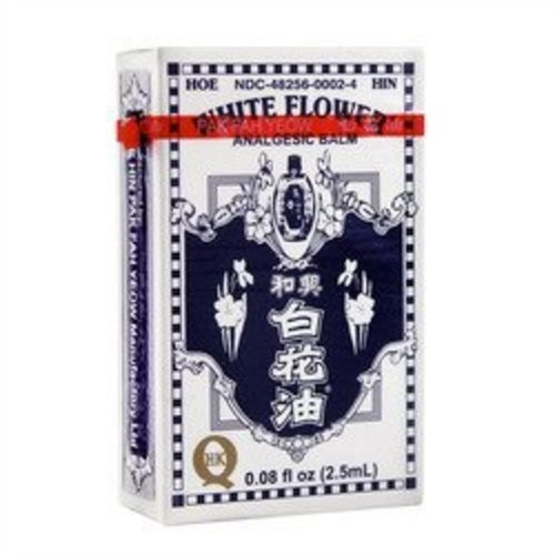 #4 White Flower Analgesic Balm White Flower 0.08 oz Balm