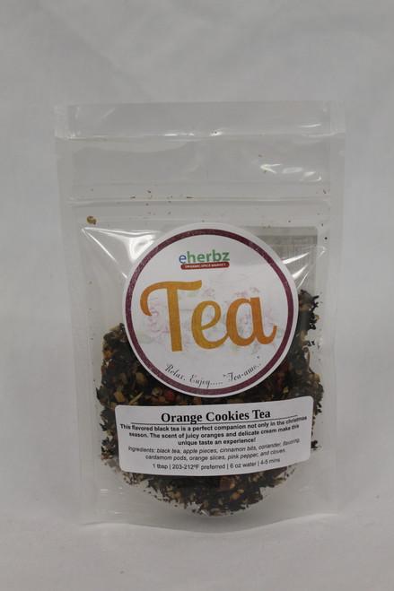 Orange Cookie Tea