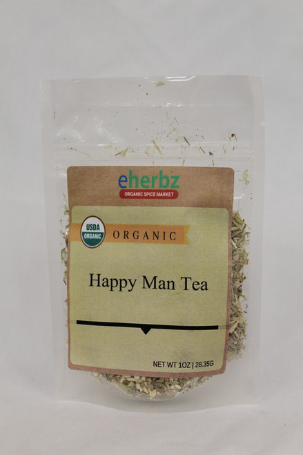 Happy Man Organic Tea 1oz