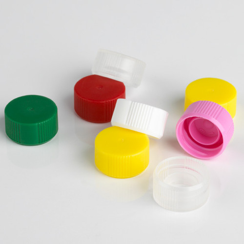 Screw Cap without O-Ring for Microtube, Assorted Colors