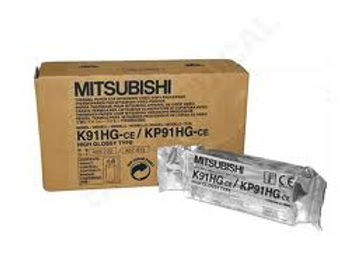 Mitsubishi Genuine Monochrome Thermal Printer Paper K91HG / KP91HG