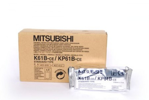 Mitsubishi Genuine Monochrome Thermal Printer Paper K61B / KP61B