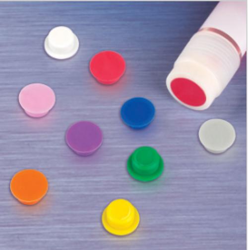 Cap insert CryoCLEAR vials, Various Colors