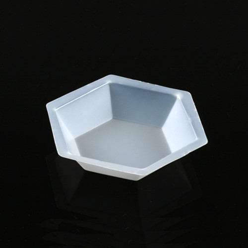 50mL Plastic Hexagonal Weighing Dish