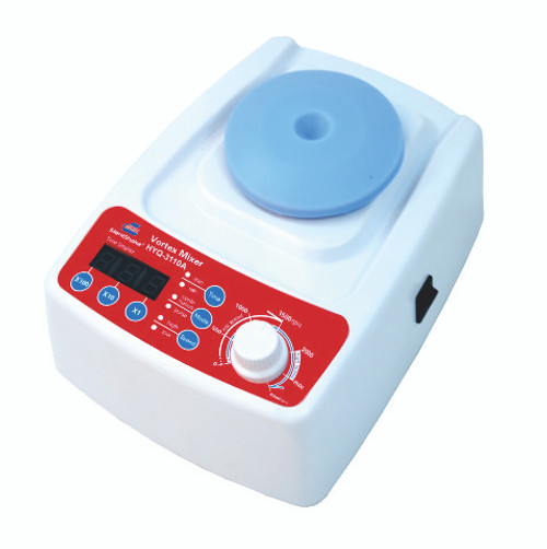 Vortex Mixer, with analog speed control and digital timer control and display