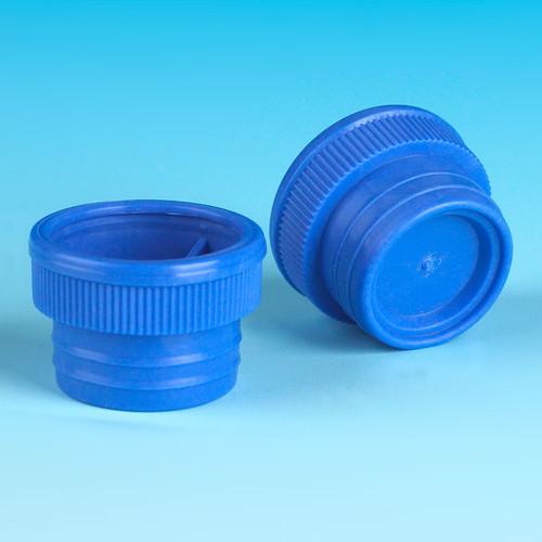 Blue Plug Caps for 15mL Centrifuge Tubes, 6265A & 6266A