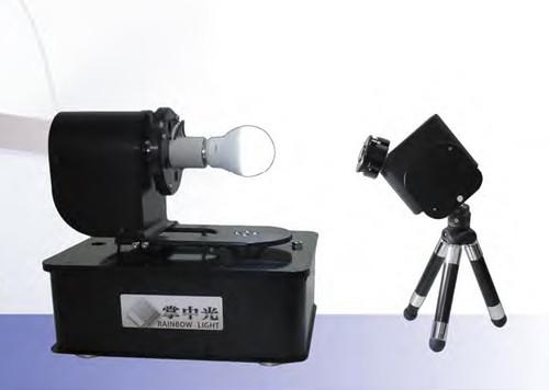 Goniophotometer in use