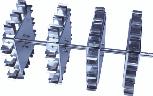 Scilogex Rotisserie Rotator Accessory, Tube Holder (holds 15mL x 24 tubes horizontally)