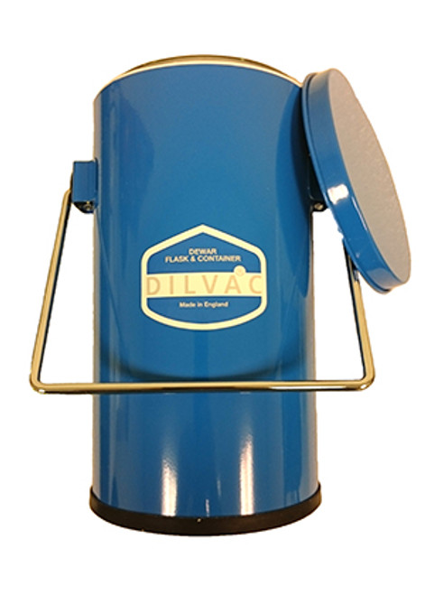 Scilogex DILVAC Blue Metal Cased Dewar Flasks