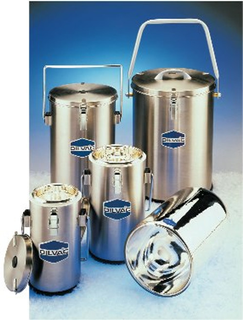 DILVAC Stainless Steel Cased Dewar Flasks