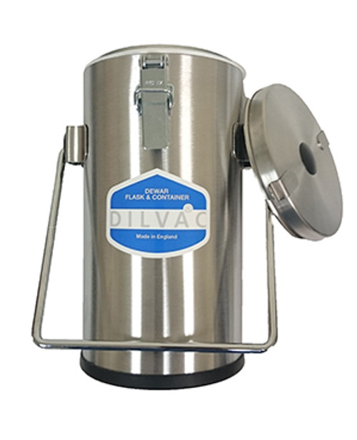 Scilogex DILVAC Stainless Steel Cased Dewar Flask