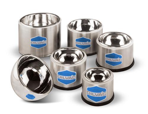 DILVAC Stainless Steel Cased Low Profile Dewar Flasks