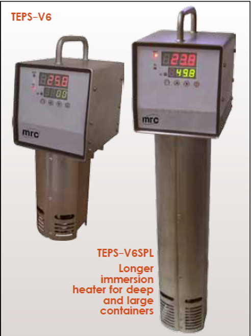 TEPS-V6 SPL for long immersion heaters and also short immersion heaters
