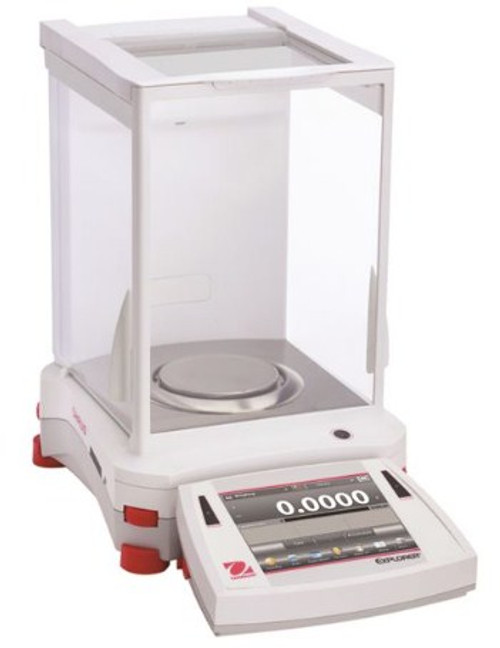 OH EX224 Ohaus Explorer Analytical Balance with a capacity of 220g.