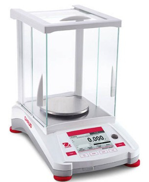 OH AX324 Ohaus Adventurer Analytical Balance with a capacity of 320g.