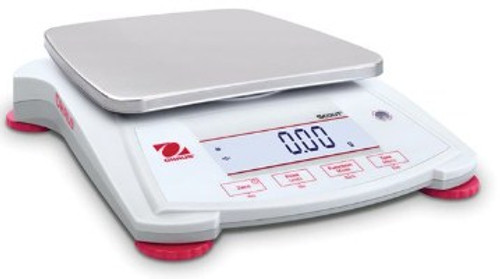OH SPX1202 Ohaus Scout Portable Balance with a capacity of 1200g.