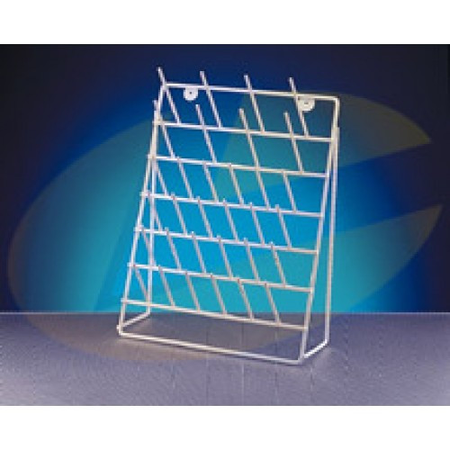 Azlon RWK070FS Epoxy Coated Steel Draining Racks, Frame Stand