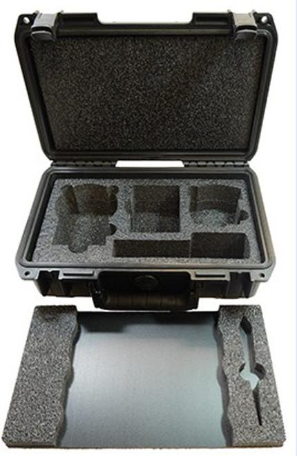 "Zarbeco 7"" Premium Hard Case with 2 custom trays"