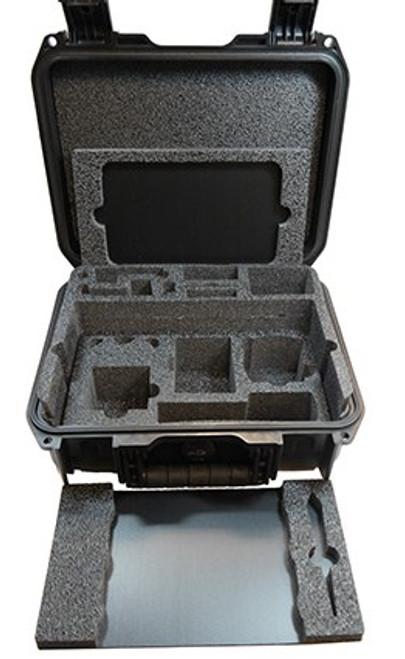 "Zarbeco 8"" Premium Hard Case with 3 custom trays"