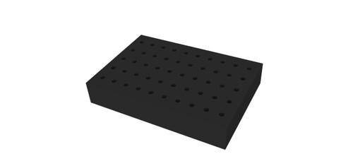 Foam Block for Multi-Tube Vortex Mixer, P/N MTV15T10