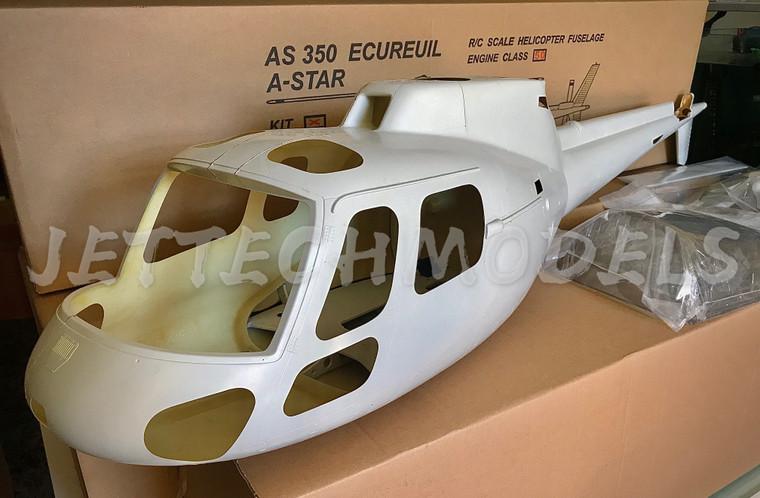FUNKEY Scale Fuselage AS350 Ecureuil (A- Star) .50 (600) size  Kit  (UNPAINTED)
