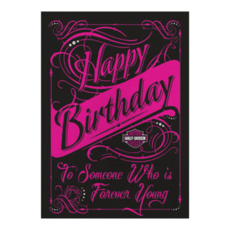 H-D™ FOREVER YOUNG- BIRTHDAY CARD