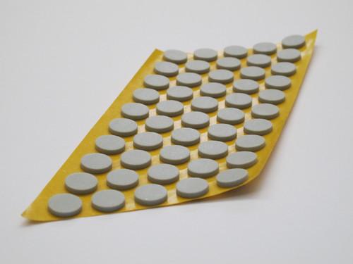Septum, grau, 15 mm, 10.000 St.