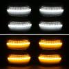 2008-2016 Ford F-250/F-350/F-450/F-550 Super Duty LED Side Mirror Signal Lights w/ Smoke Lens