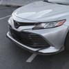 2018-2020 Toyota Camry 3-PC Style Front Bumper Lip (Matte Black)