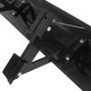 "Universal Black CNC Aluminum 52"" Non-Adjustable Double Deck Trunk Spoiler Wing"