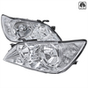2001-2005 Lexus IS300 Factory Style Crystal Headlights (Chrome Housing/Clear Lens)