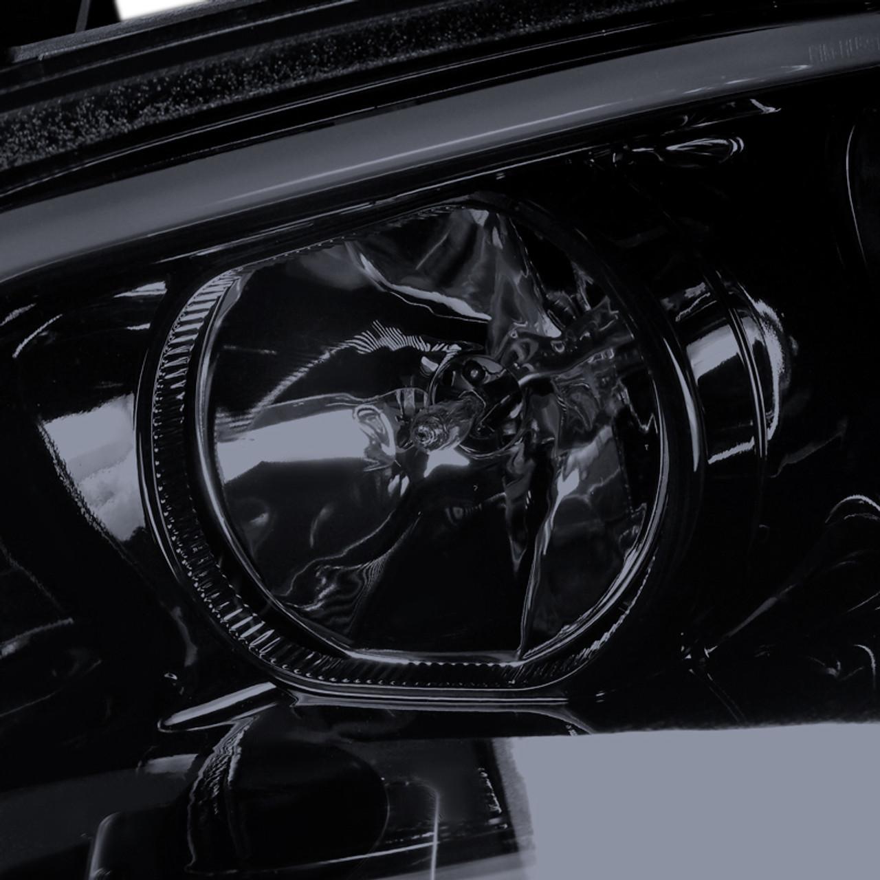 2008 2009 pontiac g8 glossy black housing smoke lens projector headlights w led drl bar h1 bulbs k2 motor 2008 2009 pontiac g8 glossy black housing smoke lens projector headlights w led drl bar h1 bulbs