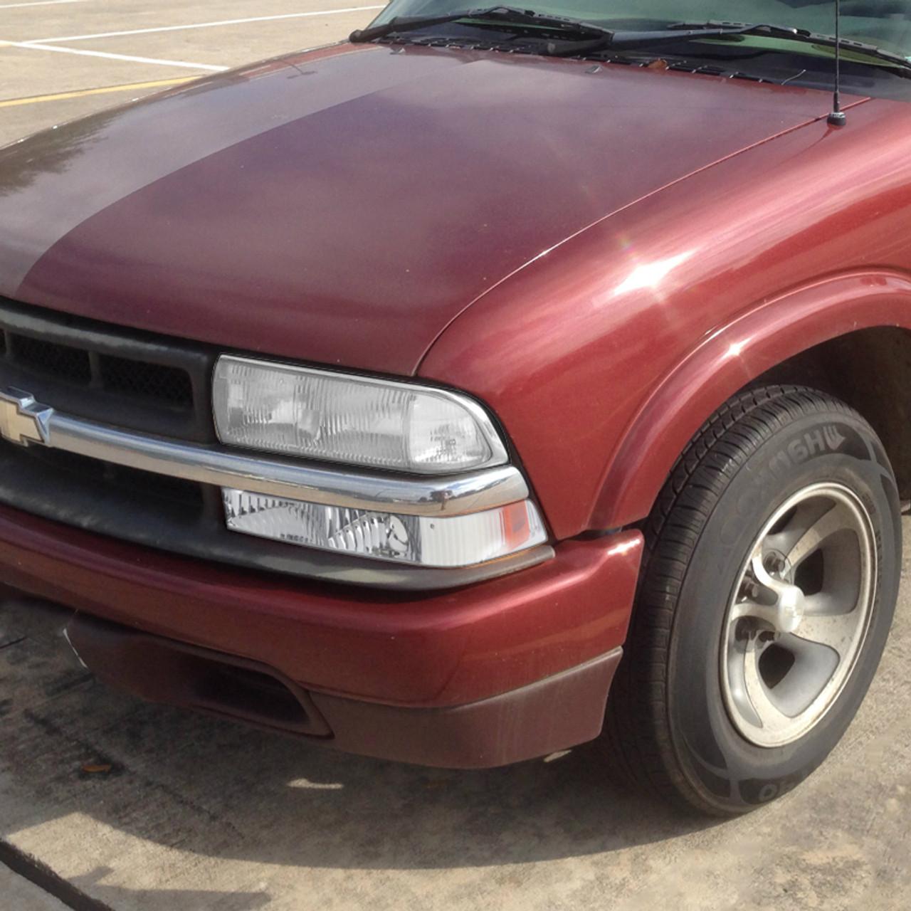 1998 2004 Chevrolet S10 Gmc Sonoma Bumper Lights Chrome Housing Clear Lens K2 Motor