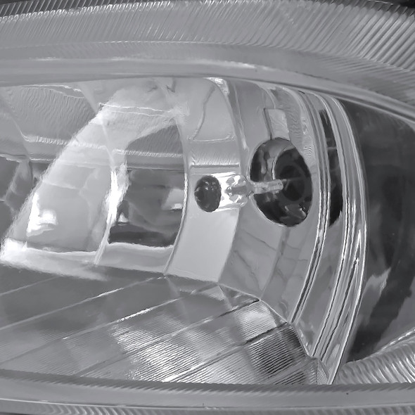 2011-2013 Hyundai Sonata 12V/27W 881 Fog Lights Kit (Chrome Housing/Clear Lens)