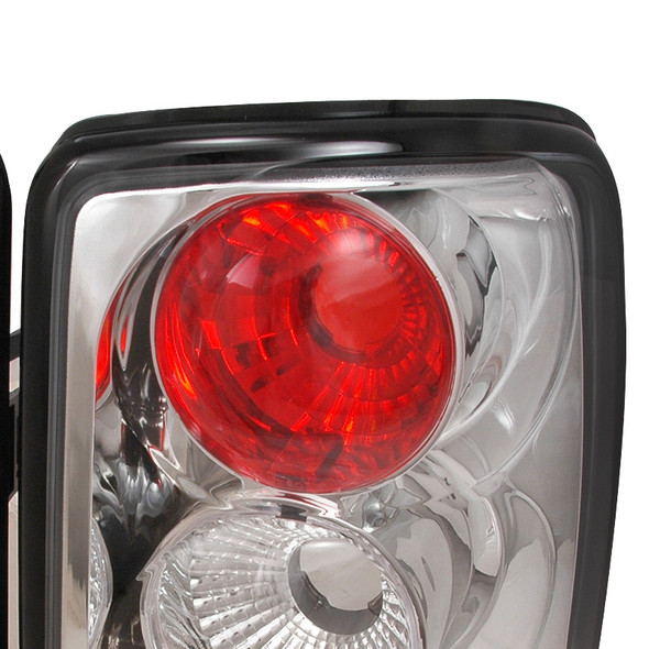 2000-2006 Chevrolet GMC Tahoe/Yukon/Suburban Tail Lights (Chrome)