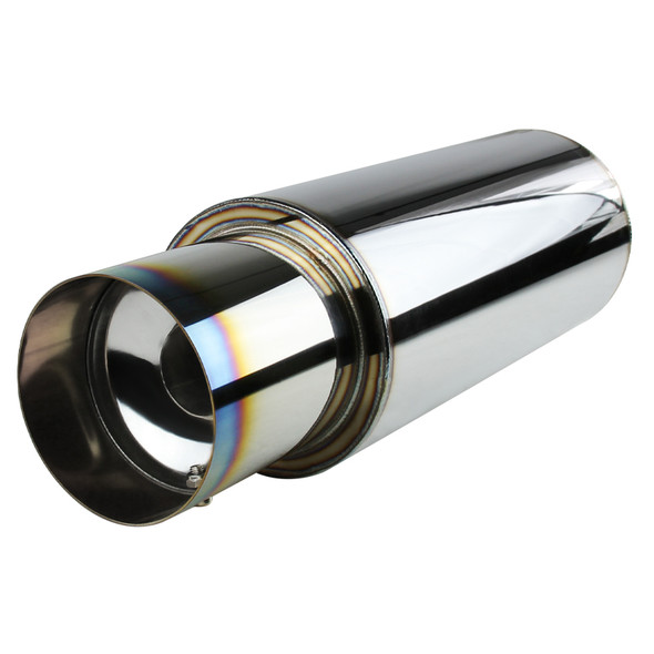 Apexi N1-Style Exhaust Muffler With Removable Silencer (Burnt Tip)
