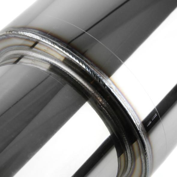 Universal Fireball-Style Stainless Steel Muffler
