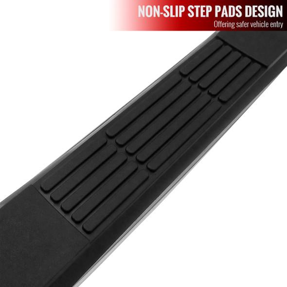 2009-2014 Ford F-150 Supercrew Cab Side Step Bars (Chrome)